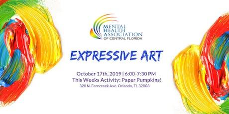 Expressive Art: Paper Pumpkins! tickets