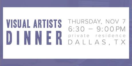 Visual Artists Dinner tickets