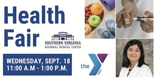 Southern Virginia Regional Medical Center FREE Health Fair