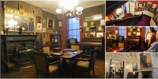 Inside the Players Club w/ Rare Look Inside Edwin Booth's Untouched Bedroom