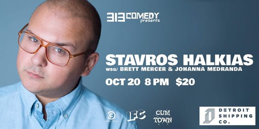 313 Comedy Presents: STAVROS HALKIAS