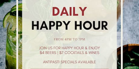 Daily Happy Hour tickets