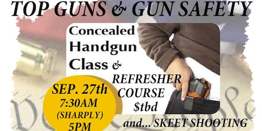 Realtor Safety with CHL License and Top Guns Skeet Tournament