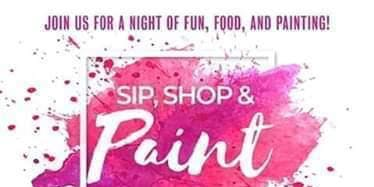 Sip, Shop & Paint