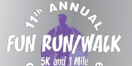 11th Annual PCCF Support Our Survivors 5k & 1Mile Fun Run tickets