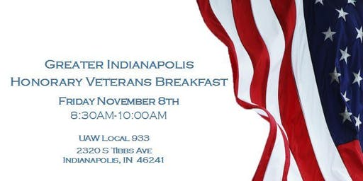 Greater Indianapolis Honorary Veterans Breakfast