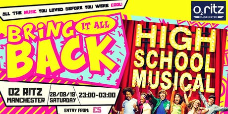 High School Musical Party! Manchester - O2 Ritz tickets