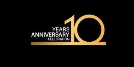 10 Year Anniversary Celebration Shady Creek Winery tickets