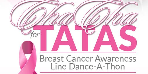 Cha Cha for the TaTa's Breast Cancer Awareness Line Dance A Thon