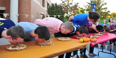 PW pumpkin pie eating contest