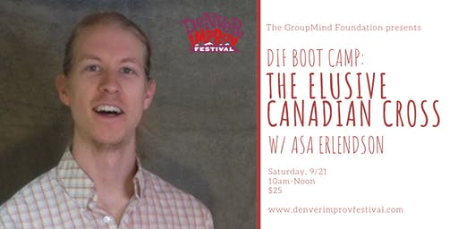 DIF BOOT CAMP: The Elusive Canadian Cross