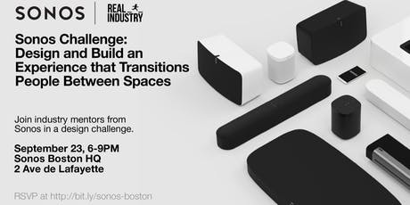 Real Industry x Sonos: Boston HQ tickets