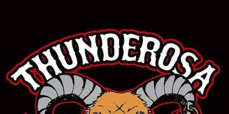 Thunderosa @ Mohawk (Indoor) tickets