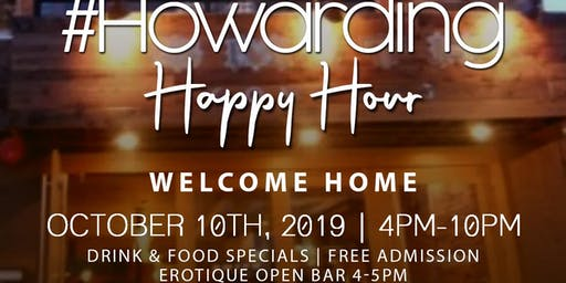 #Howarding Happy Hour
