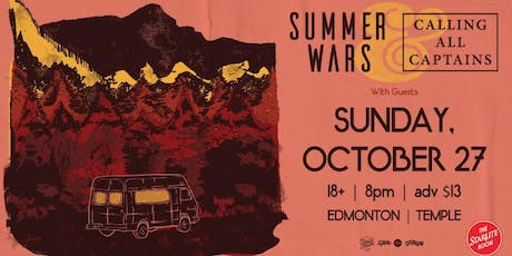 Calling All Captains w/guests Summer Wars and More TBA tickets