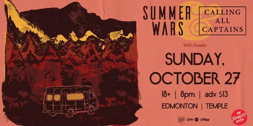 Calling All Captains w/guests Summer Wars and More TBA