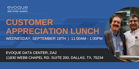 Customer Appreciation Lunch - Dallas tickets