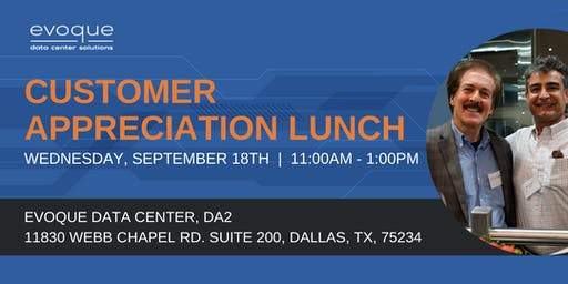 Customer Appreciation Lunch - Dallas