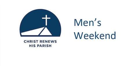 Christ Renews His Parish Men's Weekend tickets