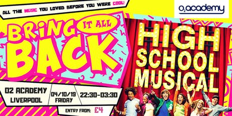 High School Musical Party! Liverpool - O2 Academy tickets