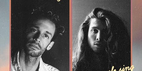 Wrabel & Billy Raffoul: happy people sing sad songs tour w/ Carlos Vara tickets
