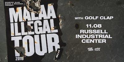 Malaa - Illegal Tour