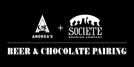 Societe Beer & Chocolate Pairing tickets