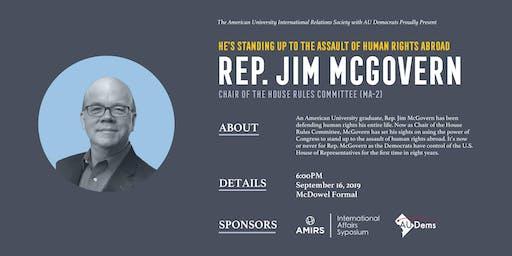AMIRS Fall 2019 Speaker Sympsium: Rep. Jim McGovern