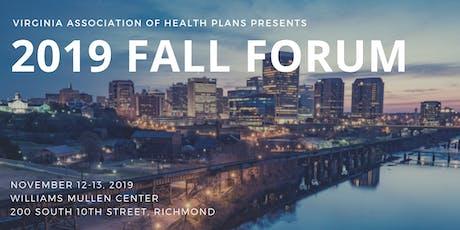 2019 VAHP Fall Forum tickets