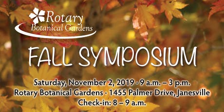 Fall Symposium tickets
