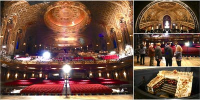"Behind-the-Scenes Exploration @ Loew's Jersey ""Wonder Theatre"""