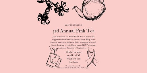 Khoobehi & Associates 3rd Annual Pink Tea