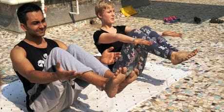 Free Open Level Yoga Practice Every Sunday in Liberty Park! tickets