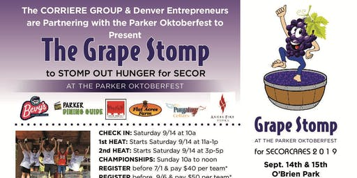 The Grape Stomp to Stomp Out Hunger for SECOR