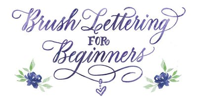 November 23: Brush Lettering for Beginners with Maureen Vickery