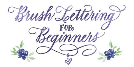 November 23: Brush Lettering for Beginners with Maureen Vickery tickets