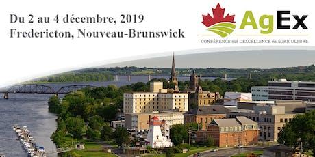 Conférence sur l'Excellence en agriculture 2019 tickets
