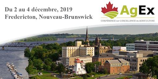 Conférence sur l'Excellence en agriculture 2019