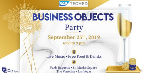 SAP BusinessObjects Party @TechEd