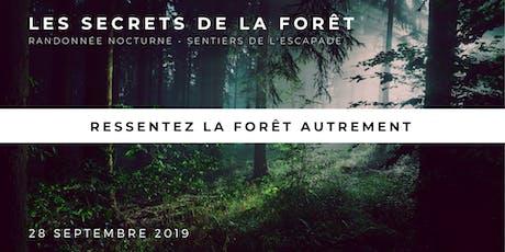 Les secrets de la forêt tickets