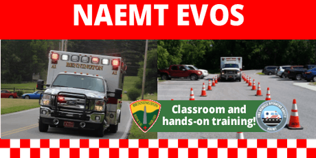 EMS Vehicle Operator Safety (EVOS) tickets