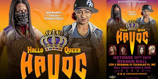 Queens of Combat present Hallo Queen Havoc