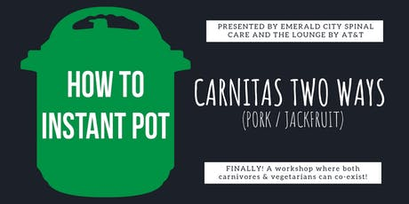 Cooking With An Instant Pot | Eat Well. Save Time & Money. tickets