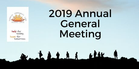 Sunrise Community Link 2018-2019 Annual General Meeting tickets
