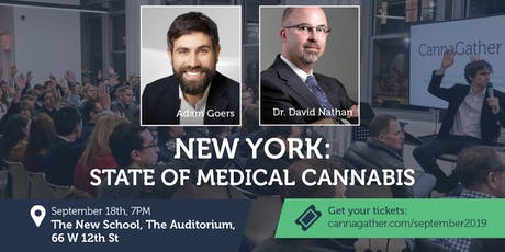 September CannaGather: New York: State of Medical Cannabis tickets