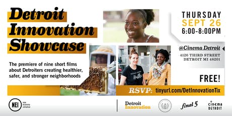 Detroit Innovation Showcase tickets