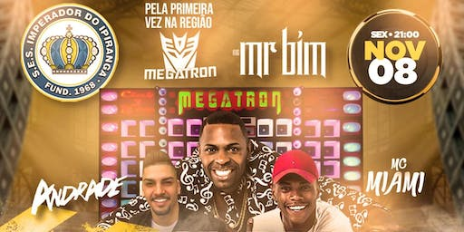 •Baile do Século• Paredão Megatron - MC Mr Bim - DJ Andrade - MC Miami