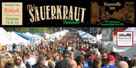 50th Annual Ohio Sauerkraut Festival - Waynesville Area Chamber of Commerce tickets