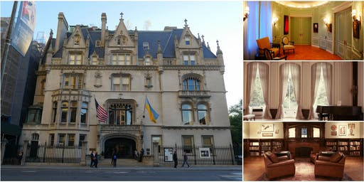 Behind-the-Scenes @ Ukrainian Institute's 5th Ave Gilded Age Mansion