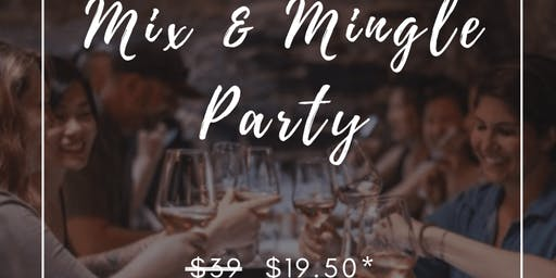 12 OCT: (50% OFF) MIX AND MINGLE PARTY @ 5-STAR HOTEL (派对@ 5星级酒店)